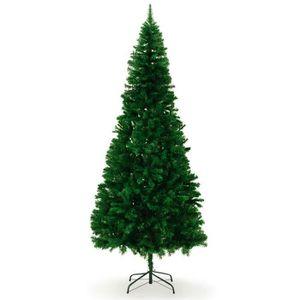 SAPIN - ARBRE DE NOËL Sapin de Noël Artificiel avec pied - 240 cm
