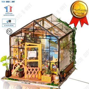 TD Maison puzzle 3D jouet fille enfant extérieur poupée moderne créatif  décoration maison intérieur cadeau d\'anniversaire adultes