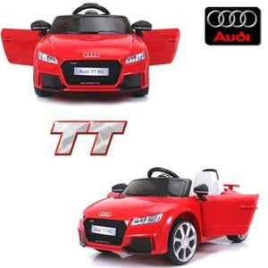 VOITURE ELECTRIQUE ENFANT Petite voiture électrique enfant 12 volts Audi TT