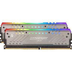 MÉMOIRE RAM Mémoire CRUCIAL 16GB Kit (8GBx2) RGB DDR4 3000 MT/