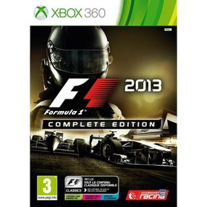 JEUX XBOX 360 F1 2013 Complete Edition