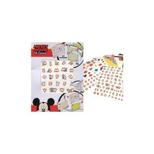 EMBELLISSEMENT Disney mickey - Panini -  Stickers + Coloriages +