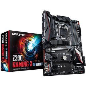 CARTE MÈRE Carte mere Gigabyte Z390 Gaming X, Intel Z390 - So