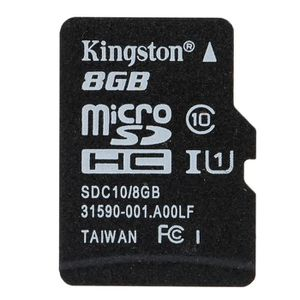 CARTE MÉMOIRE KINGSTON Carte Mémoire 8GB à 48 MB/s Vitesse Max