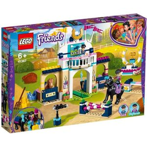 ASSEMBLAGE CONSTRUCTION LEGO® Friends 41367 Le parcours d'obstacles de Sté