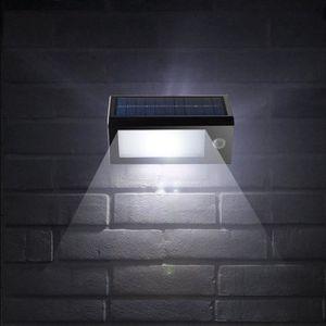APPLIQUE EXTÉRIEURE Lampe Solaire Extérieur 32LED Eclairage Solaire Dé