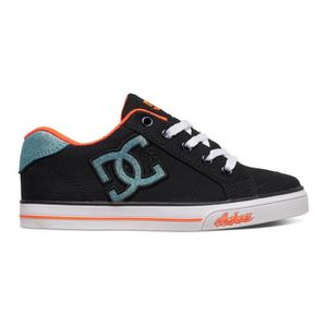 SKATESHOES DC CHELSEA TX black multi white