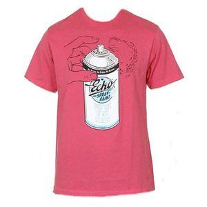 T-SHIRT T-Shirt ECKO UNLTD Drop Out Raspberry