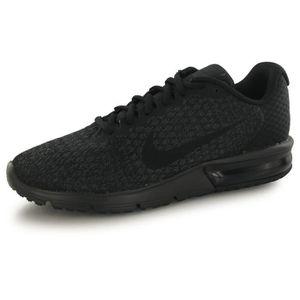 BASKET Nike Air Max Sequent 2 noir, baskets mode homme