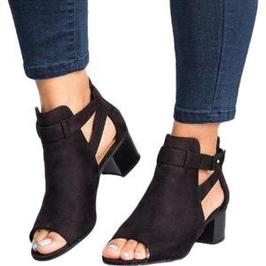 SANDALE - NU-PIEDS Minetom Sandales Femme Moda Casual Sandals Romaine