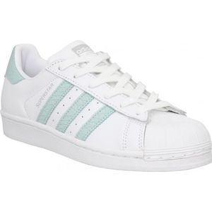 BASKET Baskets ADIDAS Superstar cuir Femme-36-Blanc Paste