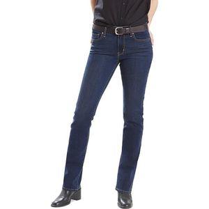 JEANS Jeans Levi's 714 Straight Bleu pour femmes. 21834
