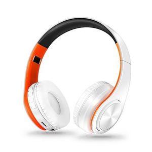 CASQUE - ÉCOUTEURS Casque Sans Fil Bluetooth écouteur Stéréo Pliable