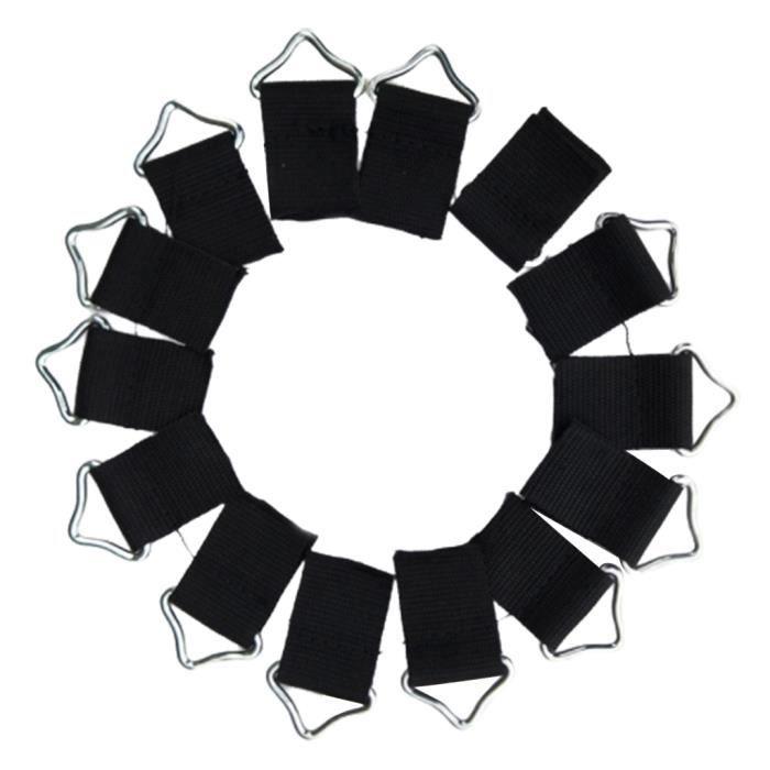 20pcs Trampoline Mat Triangle Anneaux Boucle Boucle V-Rings Pour Jump Pat Bag