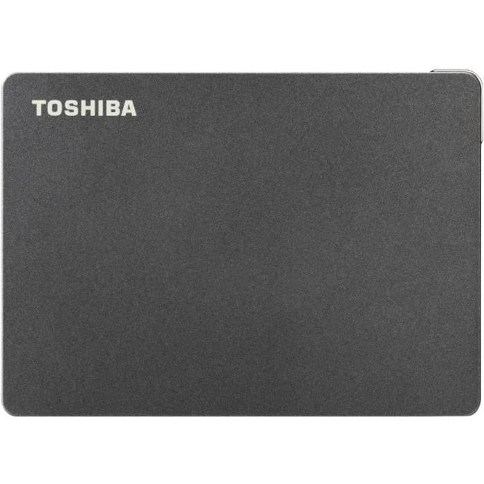 TOSHIBA - Disque dur externe Gaming - Canvio Gaming - 2To - PS4 Xbox - 2,5- (HDTX120EK3AA)