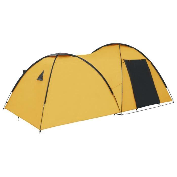 Deluxe&5173Magnifique Tente de camping familiale 2-4 personnes montage instantanée - Tente igloo de camping Extérieur Imperméable 45