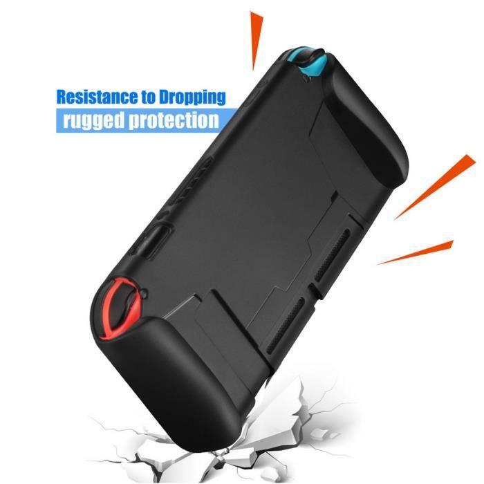 Housse de protection Housse d'absorption des chocs Housse en gel de silice souple pour Nintendo Switch Accessoires de jeu 591