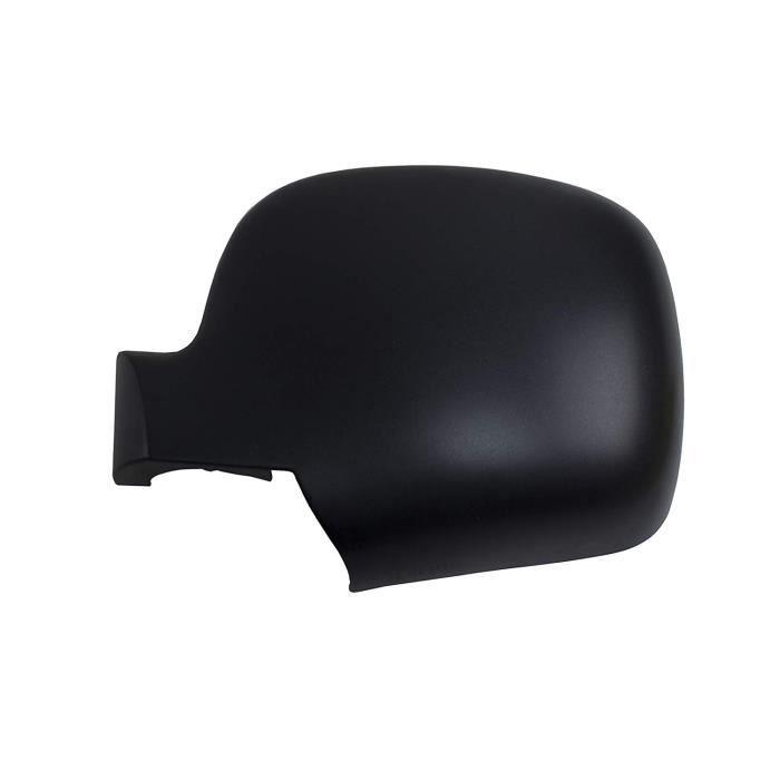 Coque Noire Rétroviseur Auto gauche pour RENAULT KANGOO de 2007 à 2012