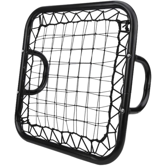 0 Soccer Rebounder, Football Door Black Pitch Back Baseball Goalkeeper Training Equipment Springback Net Baseball Rebounder, Handh