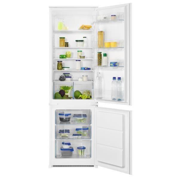 ELECTROLUX FNLX18FS1 - Réfrigérateur congélateur bas - 367L (195 + 72) - Froid Statique- L 55 x H 178 cm