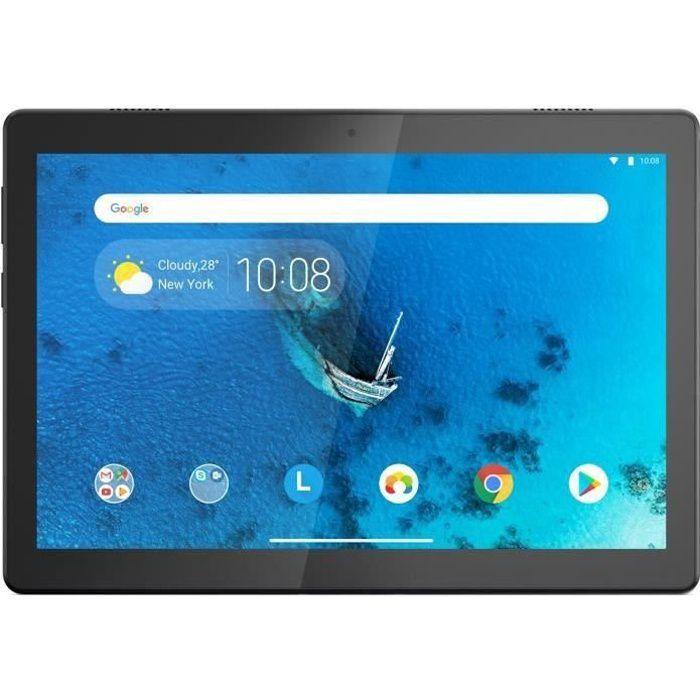 Tablette Tactile - LENOVO M10 HD - 10,1- HD - RAM 2Go - Stockage 32Go - Android 9 - Noir