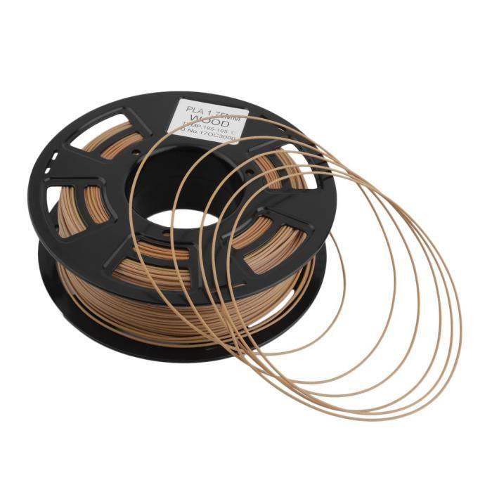 Filament 3D 1.75mm Bois,0.8Kg,Abs,,Matériaux d'imprimante de Imprimante/Stylo 3D