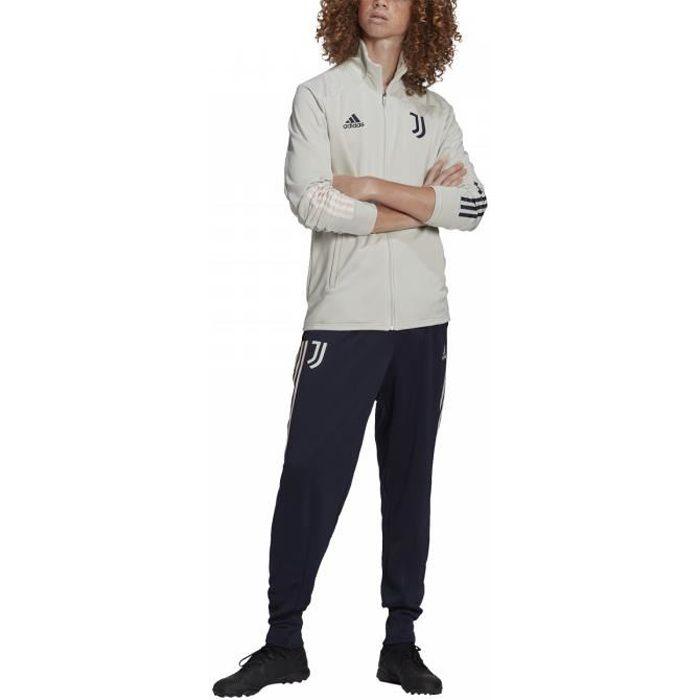 Ensemble survêtement Juventus 2020-2021 Beige Adidas Junior. FR4287.