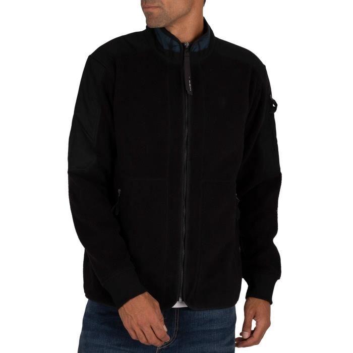 G-Star Sweatshirt zippé Tech Fleece, Noir, Homme
