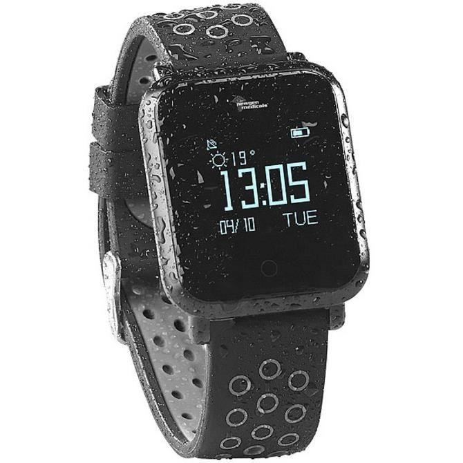 Montre fitness étanche avec cardiofréquencemètre et tensiomètre SW-250.hr