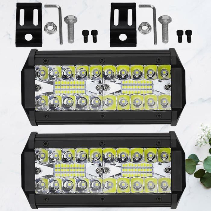 2pcs 120W 12000LM Ampoules de Voiture Super LumineUices LED Lampe CANBUS SMD CLAIRANCE gyrophare aide a la conduite - securite