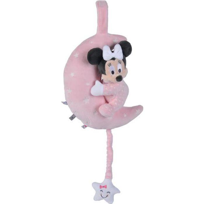 Disney Doudou Musical Lumineux Minnie Moon Starry Night