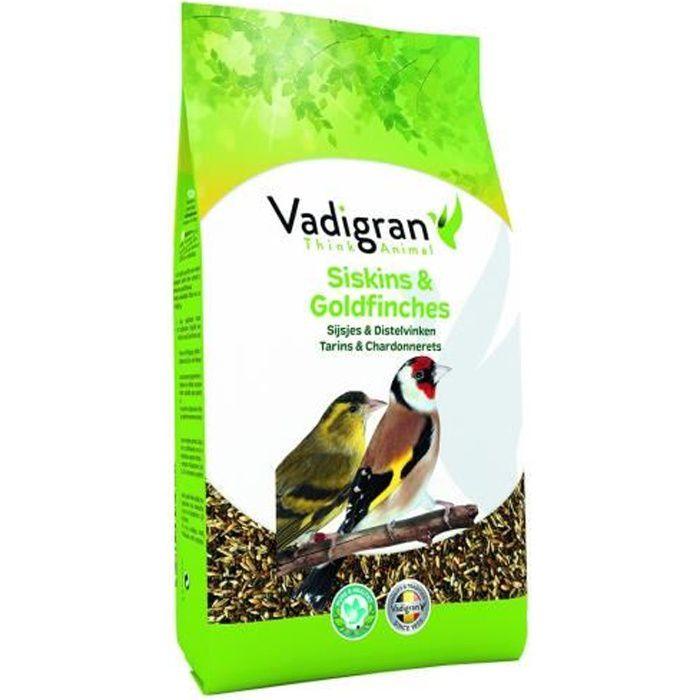 Vadigran - Graines original pour OISEAUX tarins et chardonneret 0.8Kg