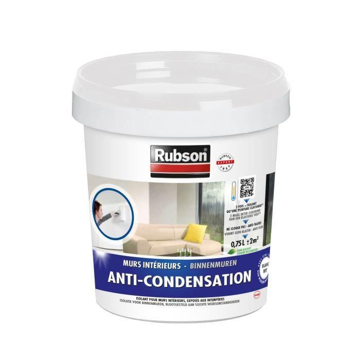 Rubson 1383397 Protection Pot Plastique Isolante Murs Intérieurs Blanc