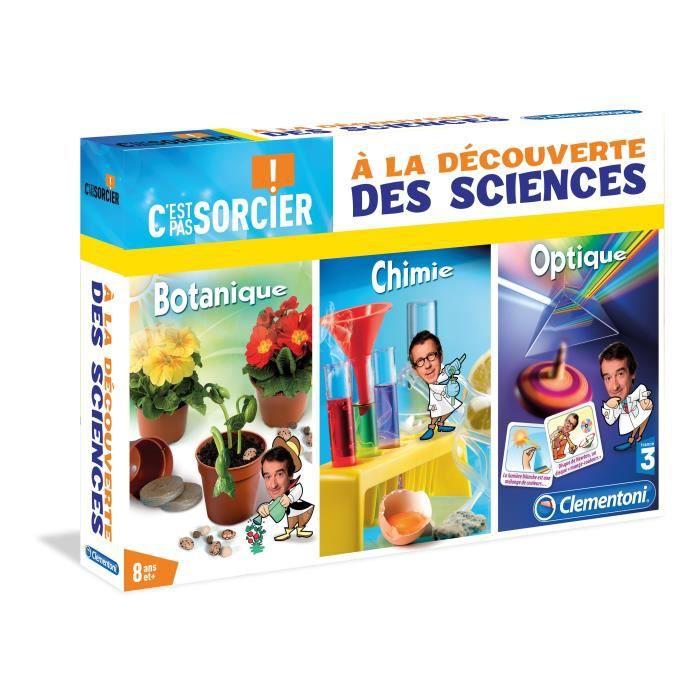 EXPÉRIENCE SCIENTIFIQUE CLEMENTONI A la Découverte des Sciences