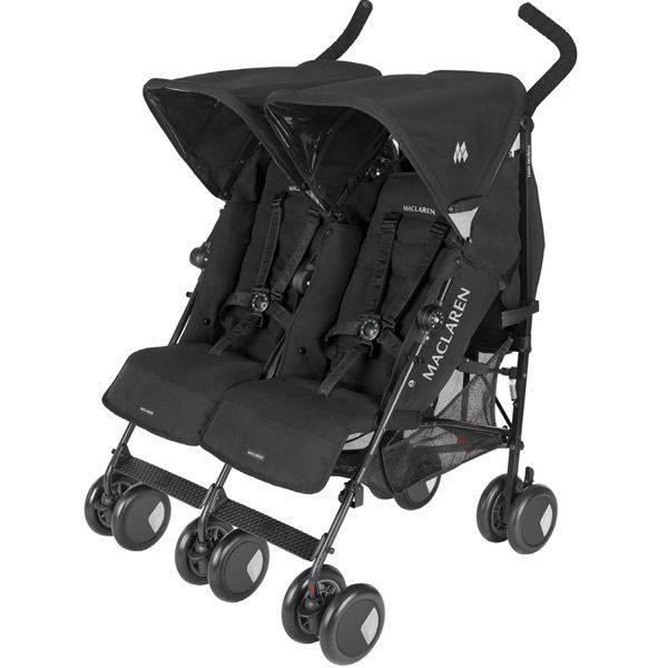 poussette canne double twin techno black achat vente poussette poussette canne double