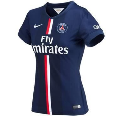 maillot de foot psg domicile femme 2014 15 prix pas cher cdiscount. Black Bedroom Furniture Sets. Home Design Ideas
