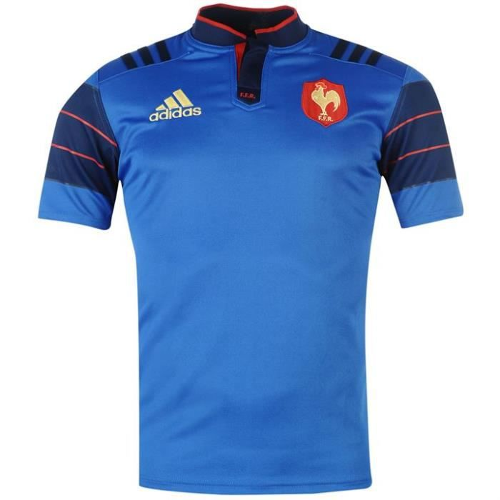 Maillot rugby officiel equipe de france 2015 2016 prix for Maillot exterieur xv de france