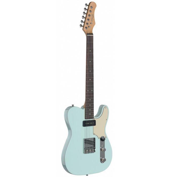 STAGG SET-CST SNB Guitare Electrique Vintage - Bleu