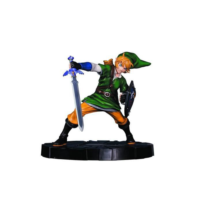FIGURINE DE JEU Figurine Collector Zelda Link en mouvement 24 cm