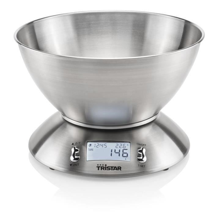BALANCE ÉLECTRONIQUE TRISTAR Balance de cuisine avec bol - KW-2436 - 2,