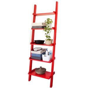 etagere echelle rouge achat vente pas cher. Black Bedroom Furniture Sets. Home Design Ideas