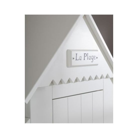 Armoire Cabine De Plage Une Porte Blanche En Mdf Couleur Marketing