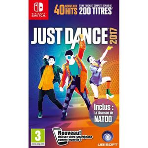JEU NINTENDO SWITCH Just Dance 2017 Jeu Switch