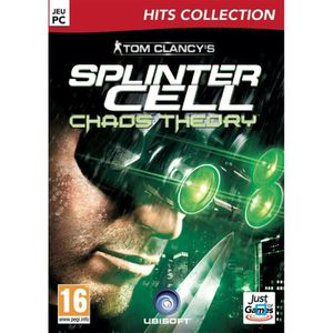 JEU PC TOM  CLANCY'S SPLINTER CELL: CHAOS THEORY / Jeu PC