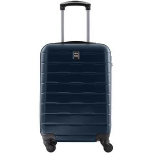 VALISE - BAGAGE CITY BAG Valise Cabine ABS 4 Roues Navy