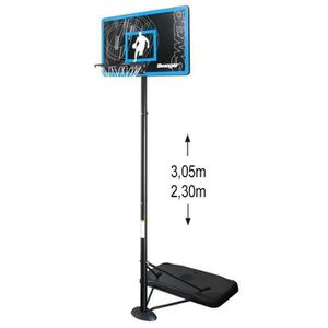 PANIER DE BASKET-BALL SWAGER Panier de Basket Ball 3.05m Réglable The Gl
