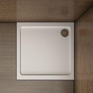 RECEVEUR DE DOUCHE 90x90cm Receveur de douche avec bonde de douche es