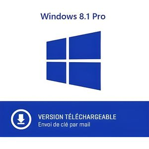 SYST EXPLOIT À TÉLÉCHARGER Windows 8.1 Pro Professionnel 32/64 bits Licence C
