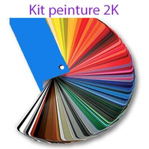 PEINTURE AUTO Kit peinture 2K 3l BMW 668 GLANZSCHWARZ SCHWARZ II