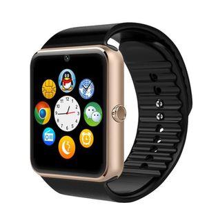MONTRE CONNECTÉE Or Sans fil Bluetooth à puce Montre-bracelet écran